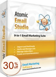 Atomic Email Studio sparen