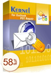 Kernel for Outlook PST Repair de desconto