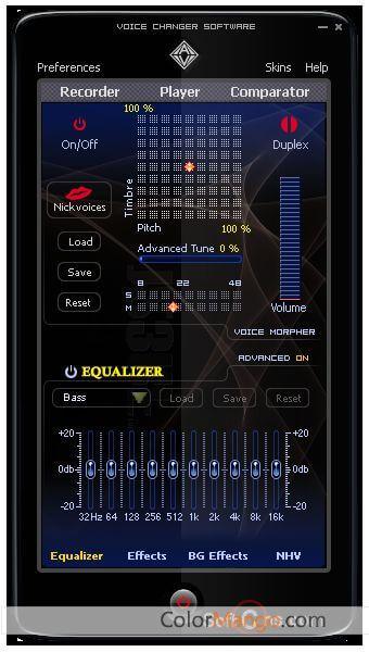 AV Voice Changer Software Screenshot