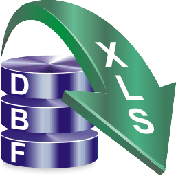 DBF to XLS (Excel) Converter Boxshot