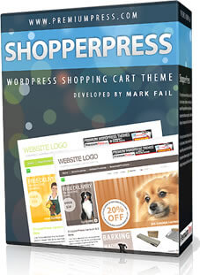 PremiumPress Shop Theme Boxshot