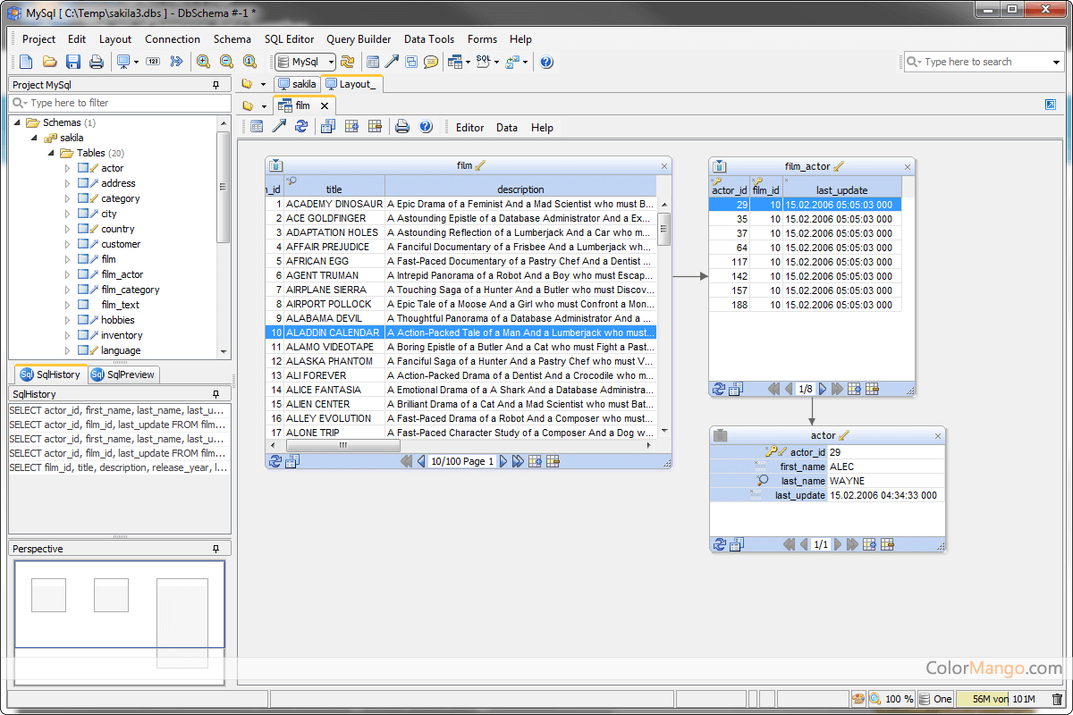 DbSchema Capture D'écran