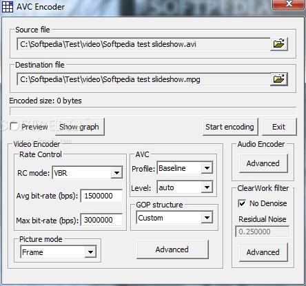 DirectShow Codec SDK Screenshot