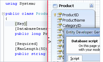 dotConnect for DB2 Screenshot