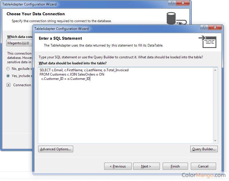 dotConnect for Magento Bildschirmfoto