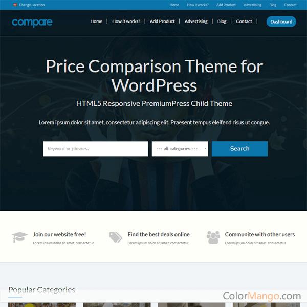 PremiumPress Comparison Theme 75% Discount