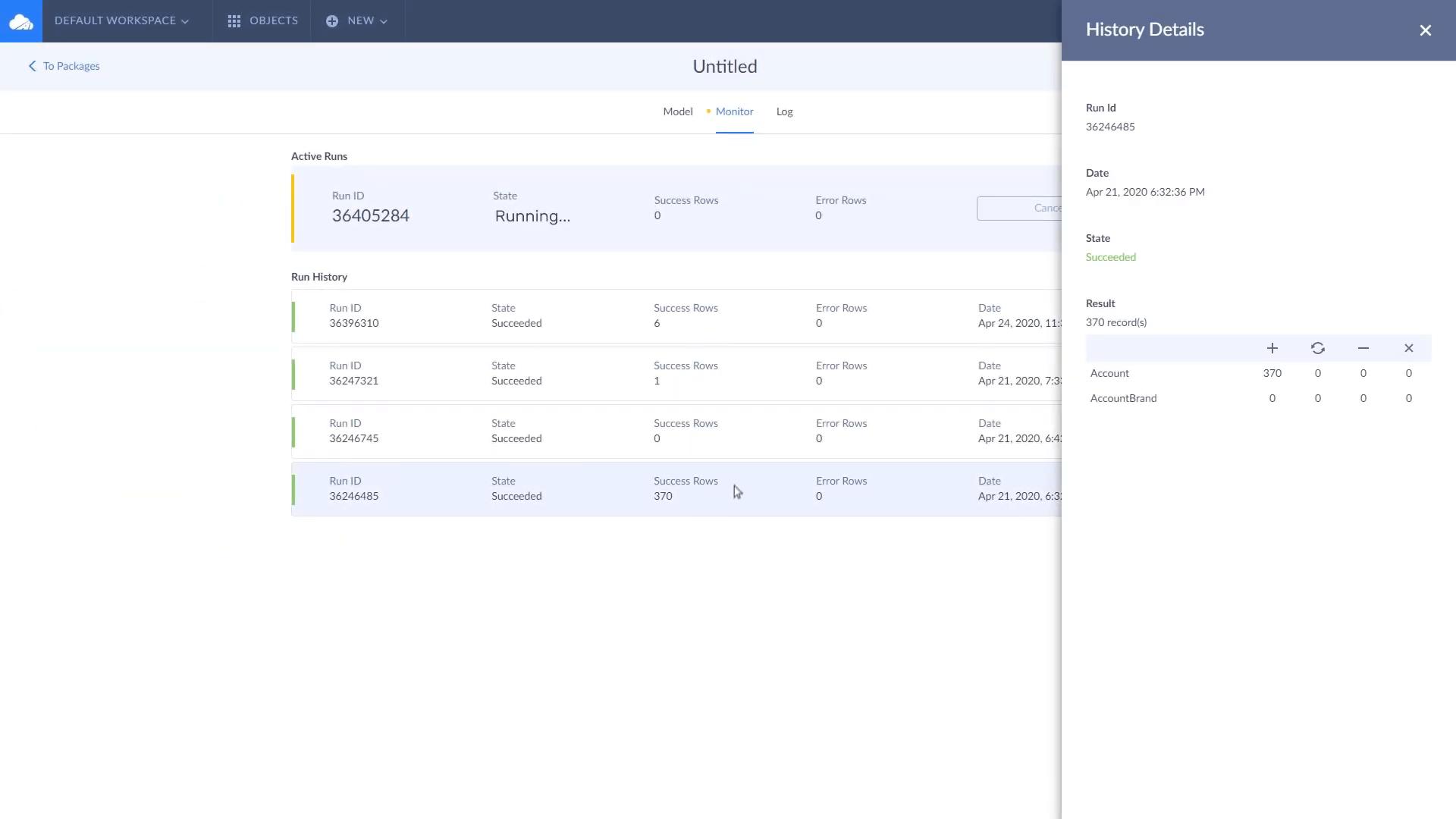 Skyvia Data Integration スクリーンショット
