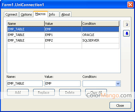 Universal Data Access Components Screenshot