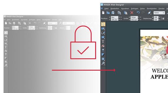 Xara Web Designer スクリーンショット