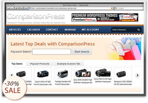 PremiumPress Comparison Theme Discount Coupon