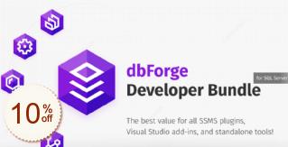 dbForge Developer Bundle for SQL Server Discount Coupon
