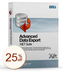 EMS Advanced Data Export .NET Shopping & Trial