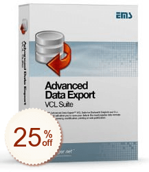 EMS Advanced Data Export VCL Discount Deal