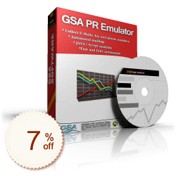 GSA PR Emulator Discount Coupon