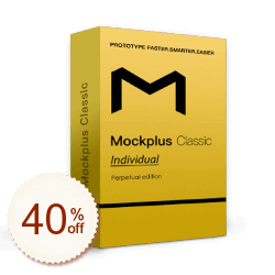 Mockplus Classic Discount Coupon