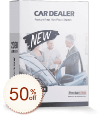 PremiumPress Car Dealer Theme Discount Coupon