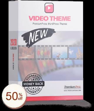 PremiumPress Video Theme Discount Coupon Code