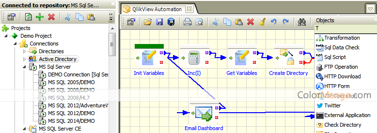 Advanced ETL Processor Professional Screenshot