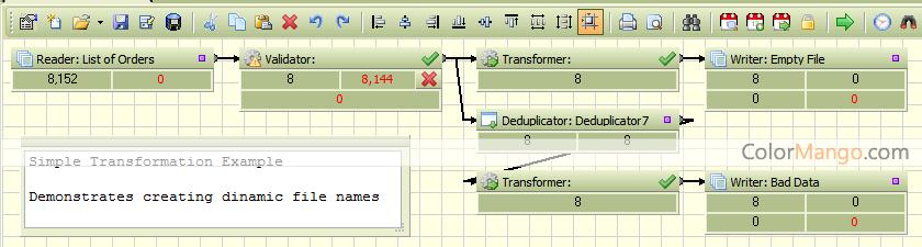 Advanced ETL Processor Standard Screenshot