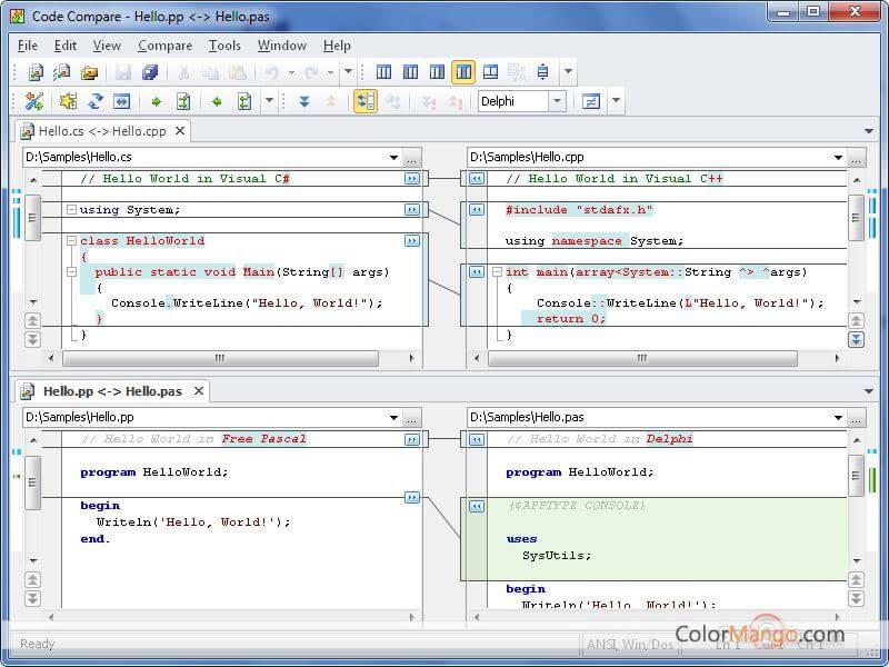 Code Compare Pro Screenshot