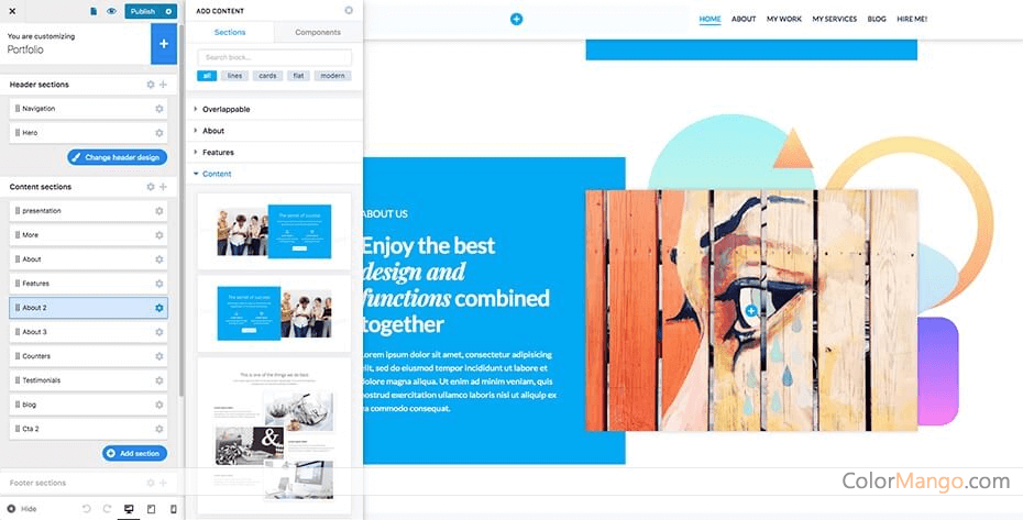 Colibri WordPress Pro Screenshot