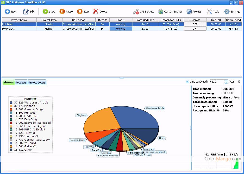 GSA Platform Identifier Screenshot