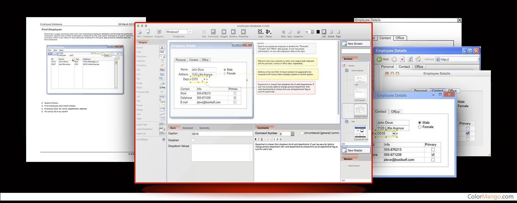 MockupScreens Screenshot
