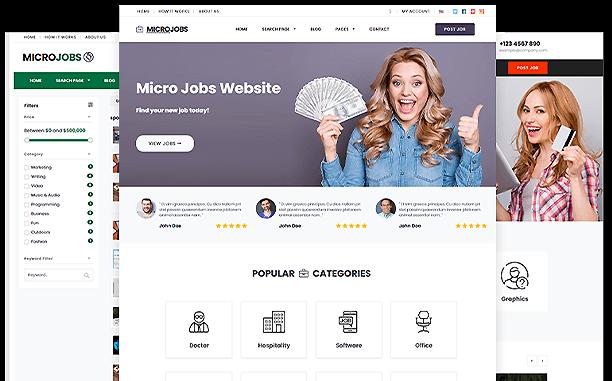 PremiumPress All Themes Screenshot