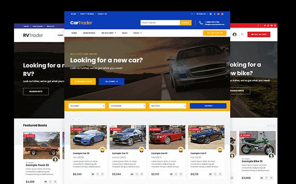 PremiumPress Car Dealer Theme Screenshot