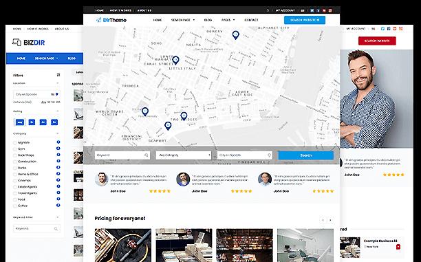 PremiumPress Directory Theme Screenshot