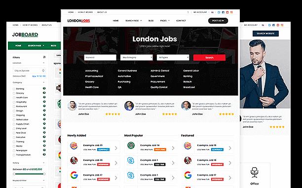 PremiumPress Job Board Theme Screenshot