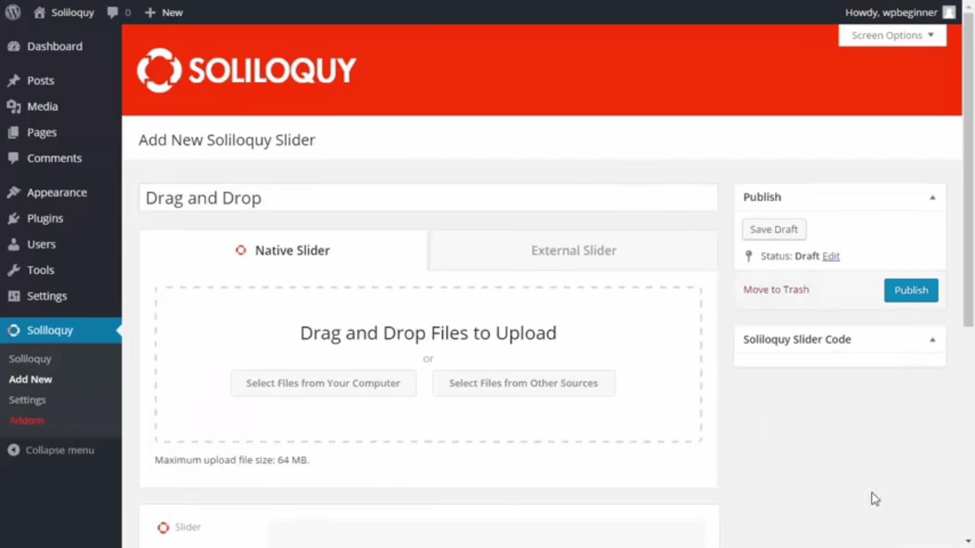 Soliloquy Screenshot