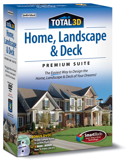 Total 3D Home, Landscape U0026 Deck Premium Suite