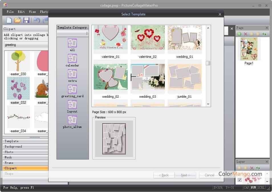 Picture Collage Maker Pro Capture D'écran