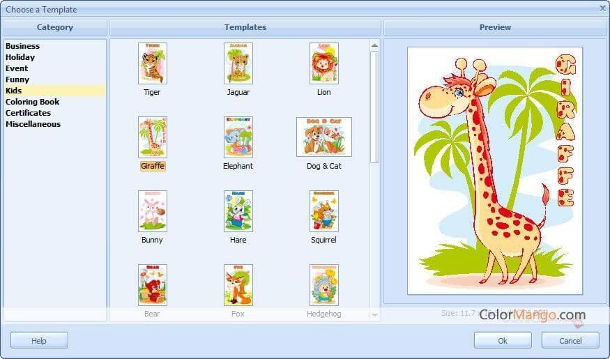 RonyaSoft Poster Designer Bildschirmfoto