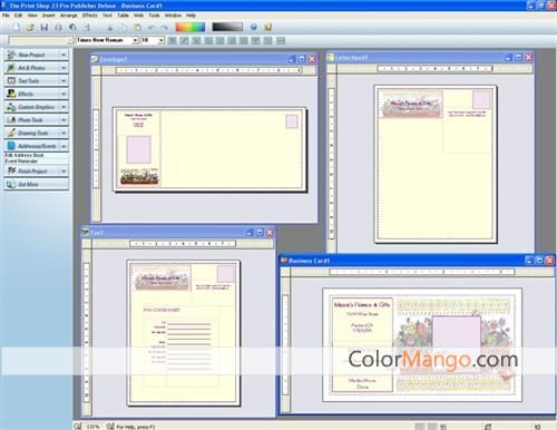 The Print Shop Pro Publisher Deluxe Screenshot