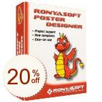 RonyaSoft Poster Designer Discount Coupon