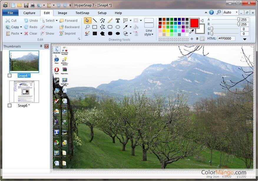 HyperSnap Screenshot