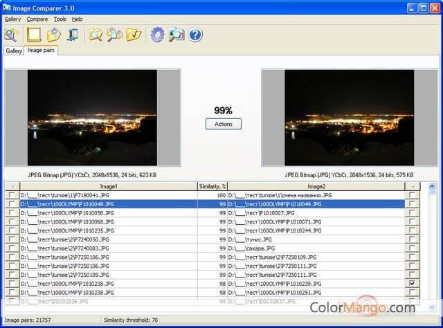 Image Comparer Screenshot