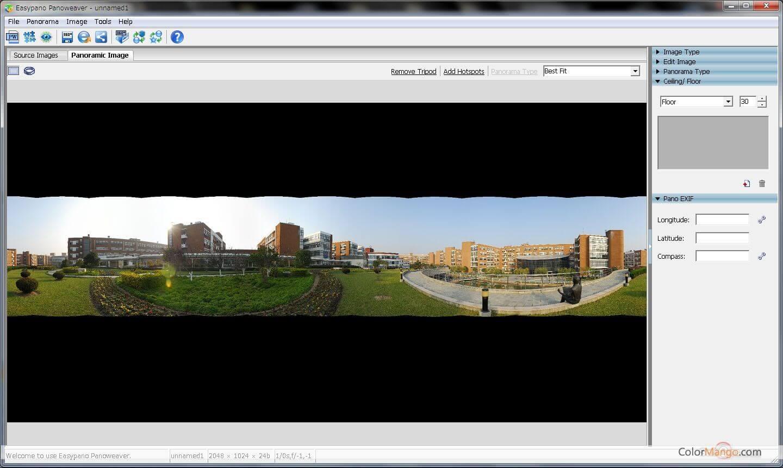 Panoweaver Screenshot
