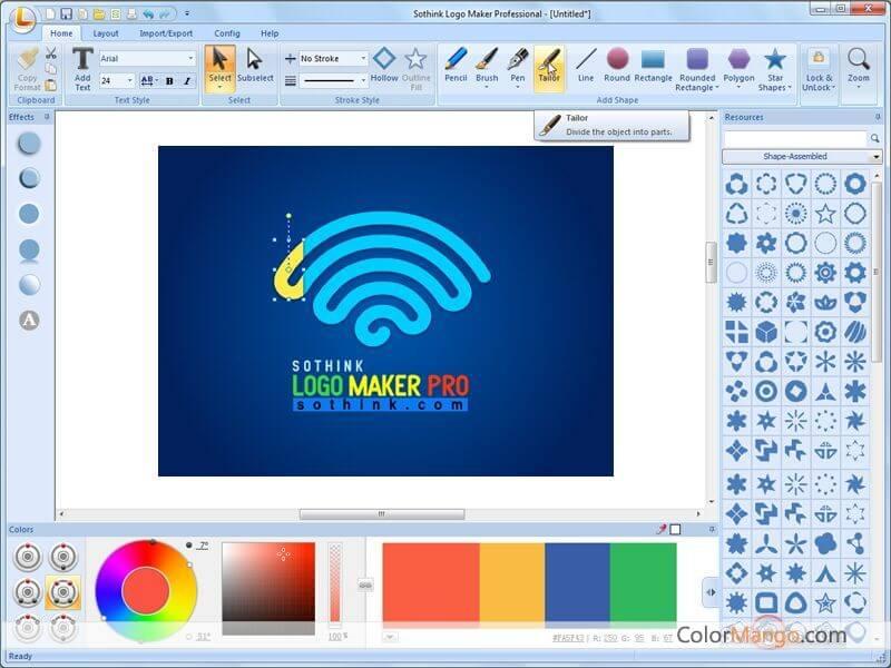 Sothink Logo Maker Pro Screenshot