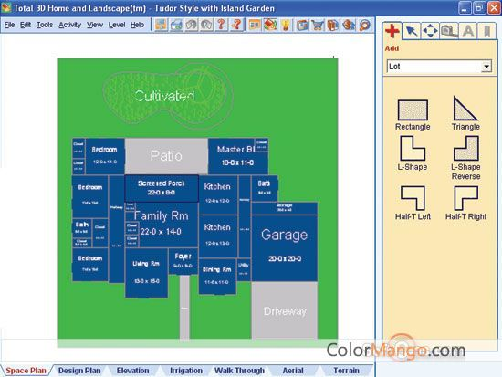 Total 3D Home, Landscape & Deck Premium Suite Screenshot