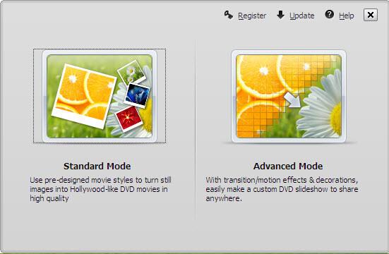 Wondershare DVD Slideshow Builder Screenshot
