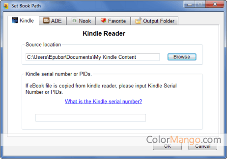 Epubor All DRM Removal Bildschirmfoto