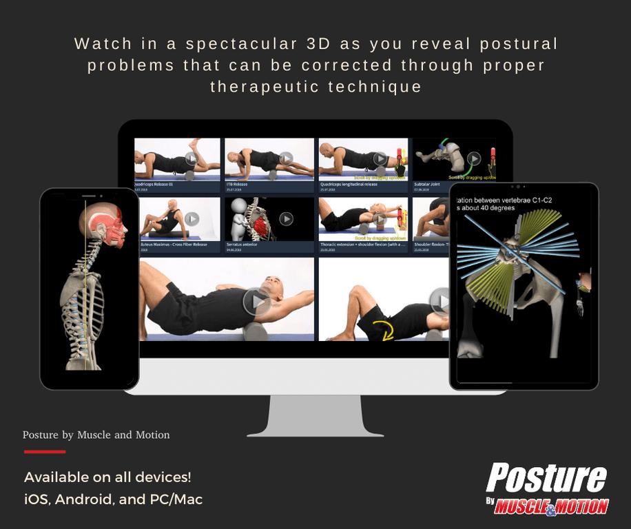 Muscle&Motion POSTURE Bildschirmfoto