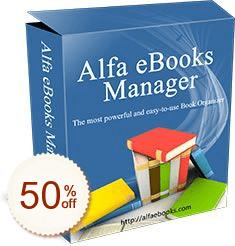 Alfa eBooks Manager Discount Coupon