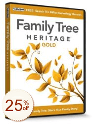 Family Tree Heritage Discount Coupon