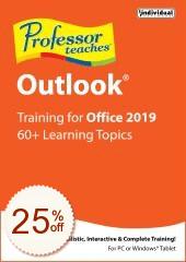 Professor Teaches Outlook 2019 Discount Coupon