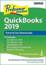 Professor Teaches QuickBooks 2019 Tutorial Set Downloads Discount Coupon