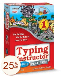 Typing Instructor for Kids Platinum Discount Coupon Code